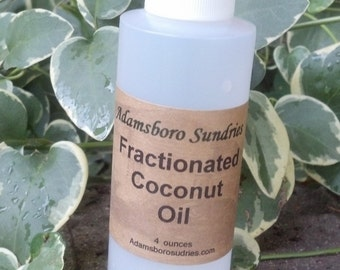 4 oz Fractionated Coconut Oil
