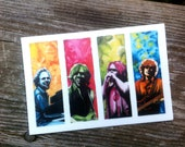 Vinyl Phish Stickers - 2 for 6 bucks