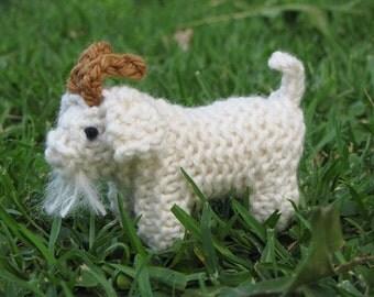 Nativity Goat Knitting Pattern (PDF), Digital Download