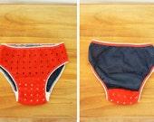 SALE vintage 60's Super Low Hip Hugger Panties