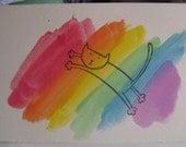 Leaping to the Rainbow Bridge