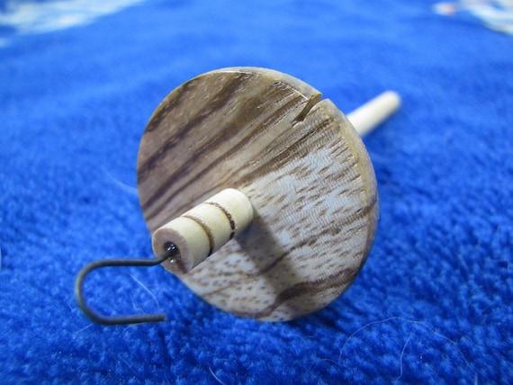0.23 oz. Zebrawood Mini Drop Spindle 861