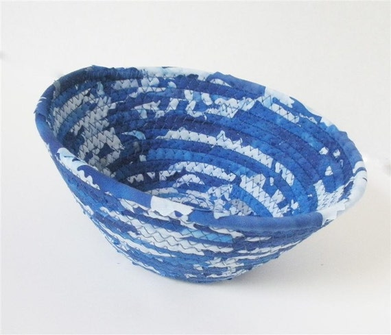 Small Royal Blue and White Bowl