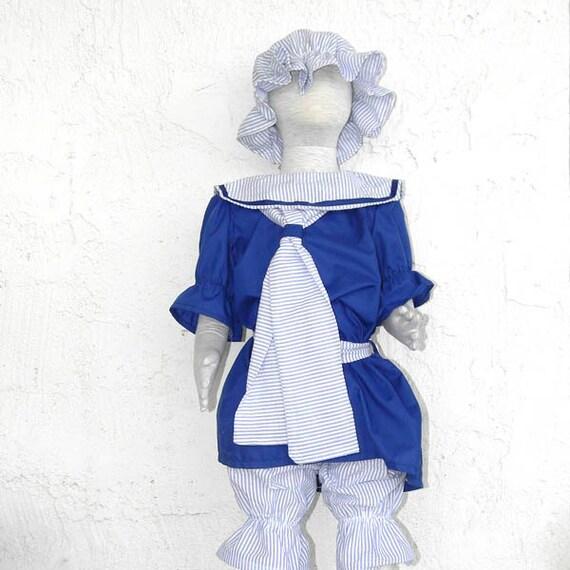 Old Fashioned Bathing Beauty Costume size 2-6