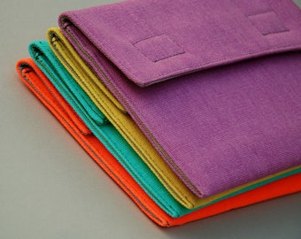 "iPad Case/iPad Air Sleeve/Surface Cover/9-10"" Tablets Bag. Neon and Colorful/Padded."