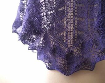 Knitting Pattern PDF / Farm Shawl