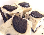 Julie's Fudge - COOKIES & CREAM Pie w/Oreo Crust - Ode to the Oreo - Over One Pound