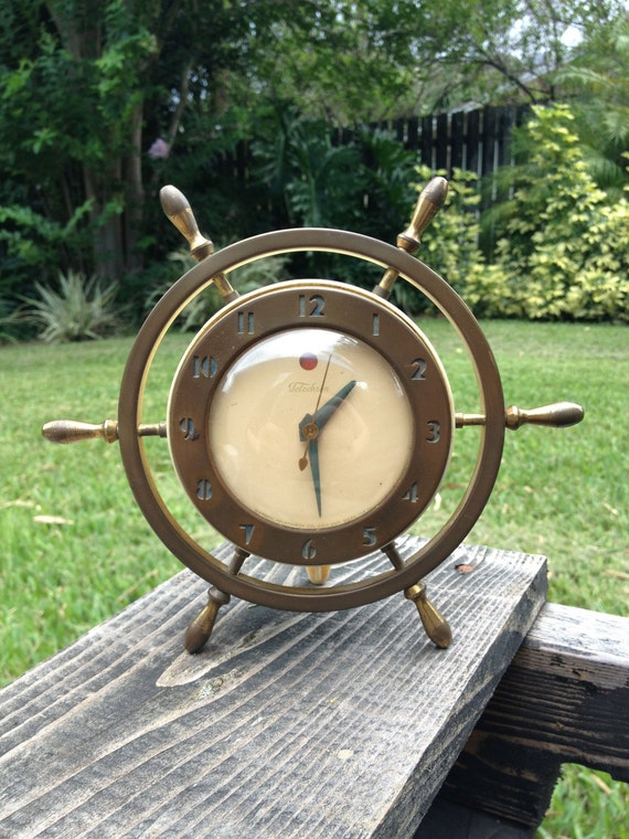 Vintage Telechron Nautical Clock