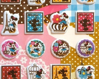 Disney puffy stickers Mickey mouse