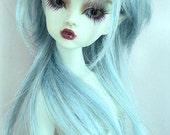 "16"" Mini MSD dollfie bjd OOAK blue skin elf ears Nabiya Seashell fairy doll"