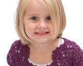 Darling Diamond Crochet Sweater, for toddler