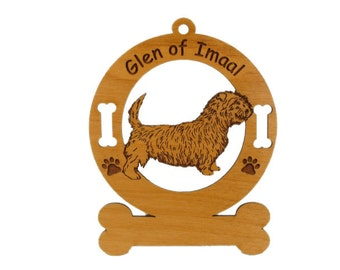 3237 Glen of Imaal Terrier Personalized Dog Ornament