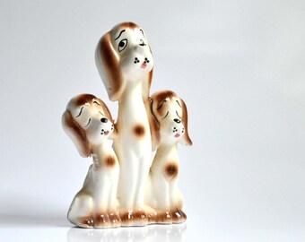 Vintage Dog-Family-Animal-Pet