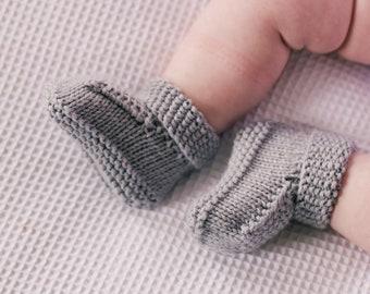 Winter Booties PDF Knitting Pattern