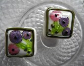 Petit Bouquet - Lampwork Glass bead set