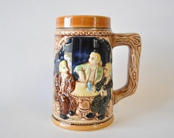drink up---adorable vintage beer stein