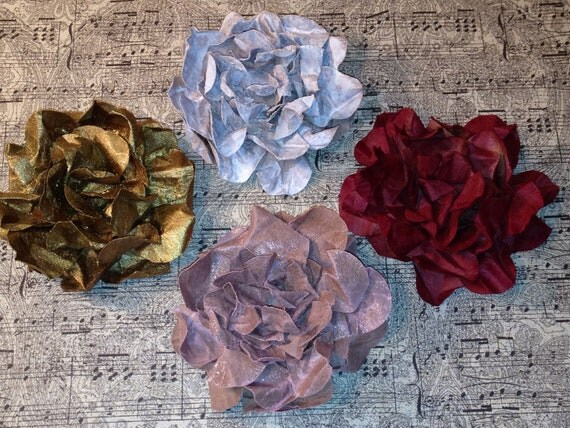 Victorian Flowers, Shabby Chic, Renaissance, Paper Roses, Embellishments, Mixed Media, Decoration, Cards, Tags, Scrapbooking, Journals
