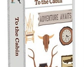 Cricut To the Cabin cartridge- unopened, manufacturer sealed