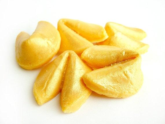 Golden Fortune Cookies - 5 Pack Goat's Milk Soaps