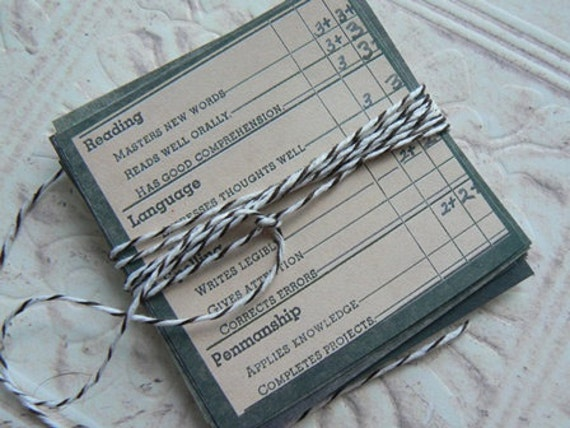 25 Mini Altered Art Deisgn Paper Embellishment Sqaures Wrapped In Bakers Twine