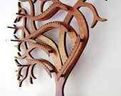 RESERVED FOR Debbie * Sweeping Tree Wall Mounted Jewelry Display
