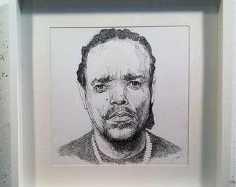 Ice T - Original Drawing