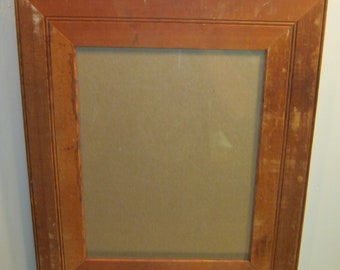 Shabby Wood Picture Frame 11x14 Shabby Recycled chic S 571-12