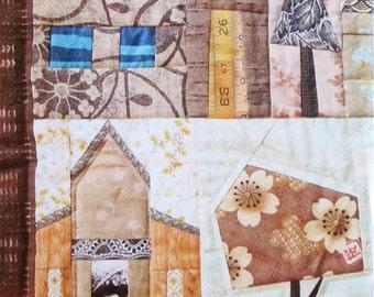 Quilt Pattern - Houses by Johanna Masko