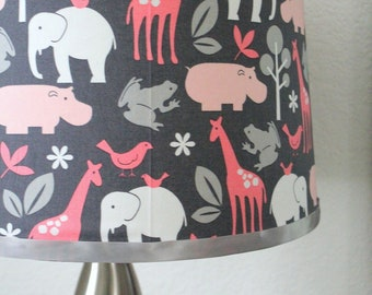Custom Lampshade Covering  - You Choose Fabric, You Choose Shade