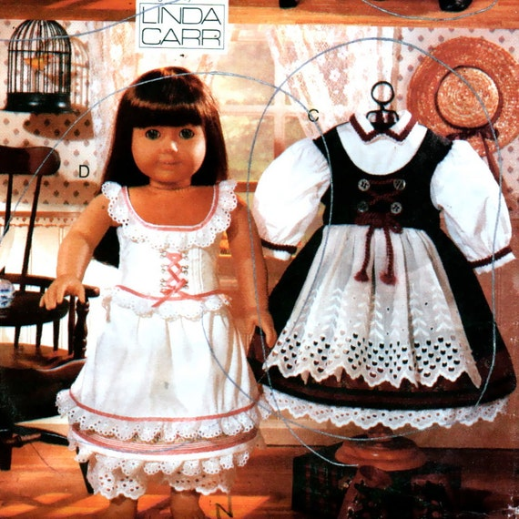 Vogue 9641 Early American Girl Doll Clothes Pattern18 Inch
