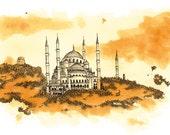 istanbul - print