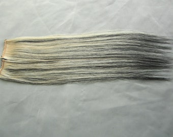 Black and Blonde Clip In Hair Extensions