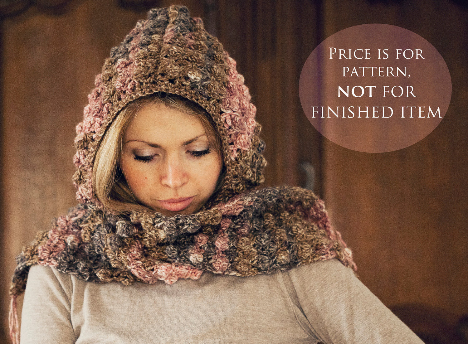 Crochet Patterns For Scarf And Hat : Instant download Hat and scarf Crochet PATTERN by ...