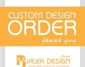 Custom Design Order for Bobbi with Twice