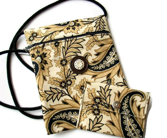Hip Bag Zipper Cross Body Strap Hobo Purse With Coin Purse CLEARANCE