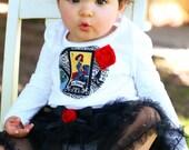 La DAMA Loteria Chic BABY GIRLS Tee Shirt  Newborn to 6
