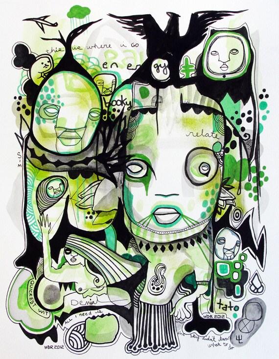 Booky Tato - Original Illustration