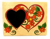 Picture Frame - Valentine Flowers