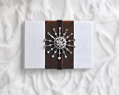 Blank Journal with Christmas Snowflake