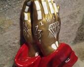 Custom Order Praying Hands
