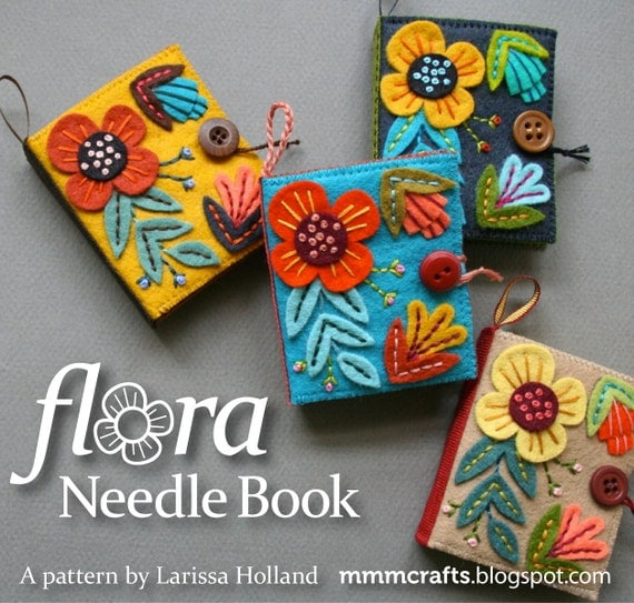 Flora Needle Book PDF pattern