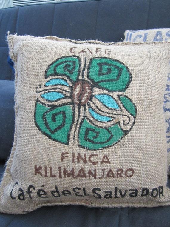 Kenyan Coffee Bag Pillow