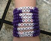 Block B Kandi Bracelets
