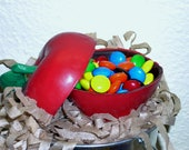 3 D Chocolate Apple Candy Box   back to school gift