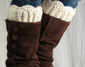 Custom fit Boot cuff, boot topper, wool or not wool,  petite, large, extra large - ChocolateDogStudio