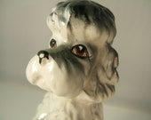 Vintage Ceramic Poodle Dog
