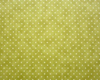 Moda, Essential Dots in Moss 8654.74 - 1 Yard Clearance