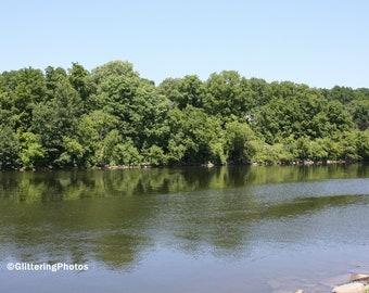 Mohawk River, Upstate New York, Canajoharie, NY, Fine Art, Photography, Print, Glossy
