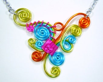 Fun and Funky Adjustable Necklace