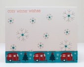 Handmade Card - Cozy Winter Wishes
